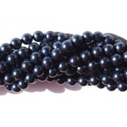 Crystal Night Blue Pearl 5mm (001 818) (x10)