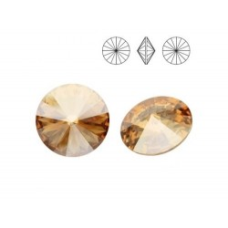 SWAROVSKI Rivoli 18mm Crystal Golden Shadow F (x1)