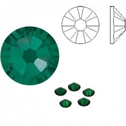 Emerald F ss5 SWAROVSKI 2058 Xilion Rose Flat Back Non-Hotfix (x10)