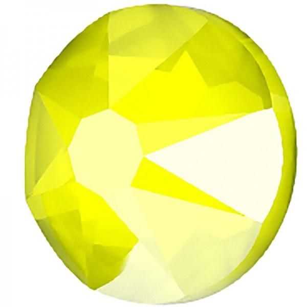 SWAROVSKI 2078 ss16 Crystal (001) Electric Yellow (L138S) Hotfix (x10)