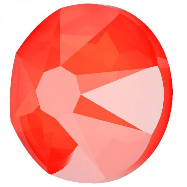 SWAROVSKI 2078 ss16 Crystal (001) Electric Orange (L136S) Hotfix (x10)