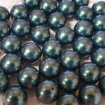 Crystal Iridescent Tahitian Look Pearl 5mm (001 2004) (x10)