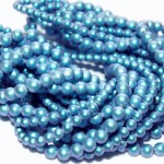 Crystal (001) Iridescent Light Blue Pearl 5mm (948) (x10)