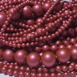 Crystal Mulberry Pink Pearl 4mm (001 2018) (x10)