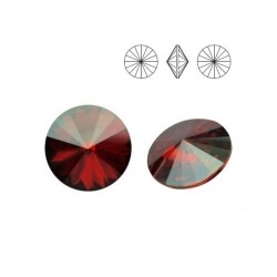 SWAROVSKI Rivoli 12mm Crystal Red Magma F (x1)