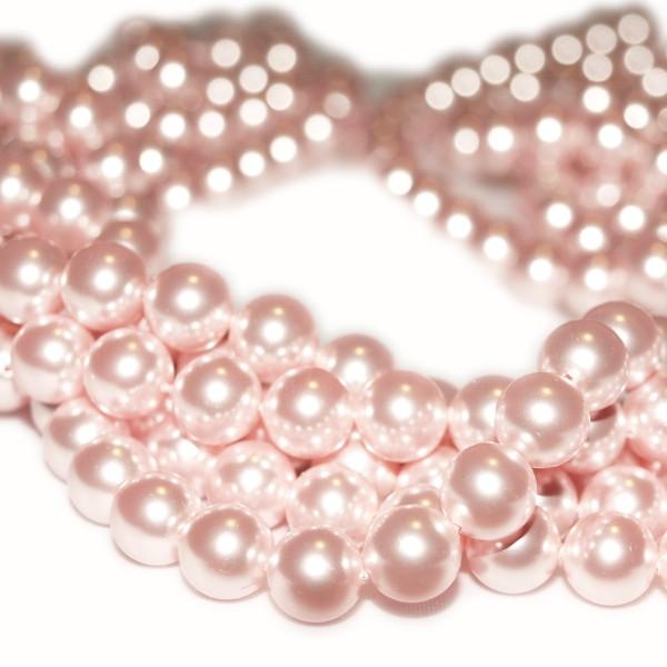 Crystal Rosaline Pearl 3mm (001 294) (x10)