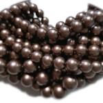 Crystal (001) Velvet Brown Pearl 6mm (951) (x10)