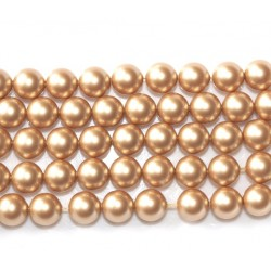 Crystal Vintage Gold Pearl 5mm (001 651) (x10)