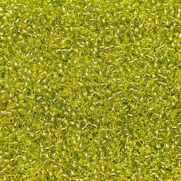 Toho Nr.15 S/L Lime Green 10g