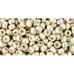 08/0 Toho Galvanized Aluminium - Permanent Finish 10g