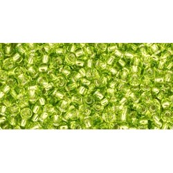 Toho Nr.11 S/L Lime Green 20g