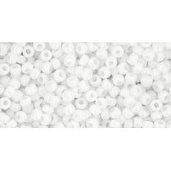 11/0 Toho Opaque White 20g