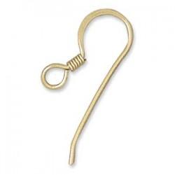 G/F 22mm Flat ear wire (x2)