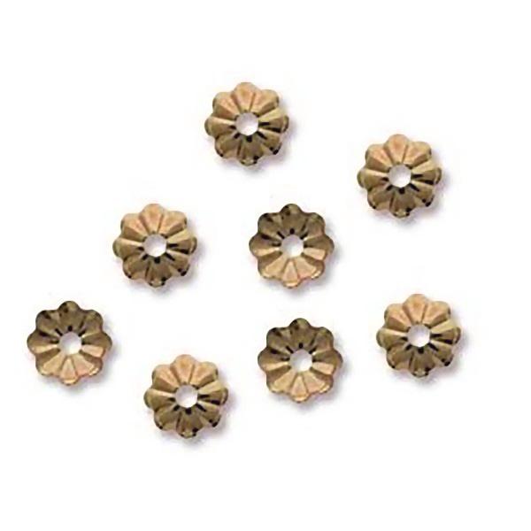 Flower Bead Cap 14K GF (x1)