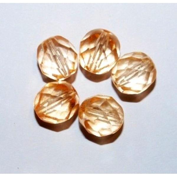 8mm Peach (x10)