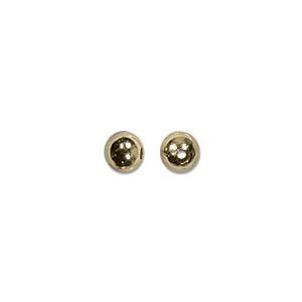 3mm Gold plated (x10)