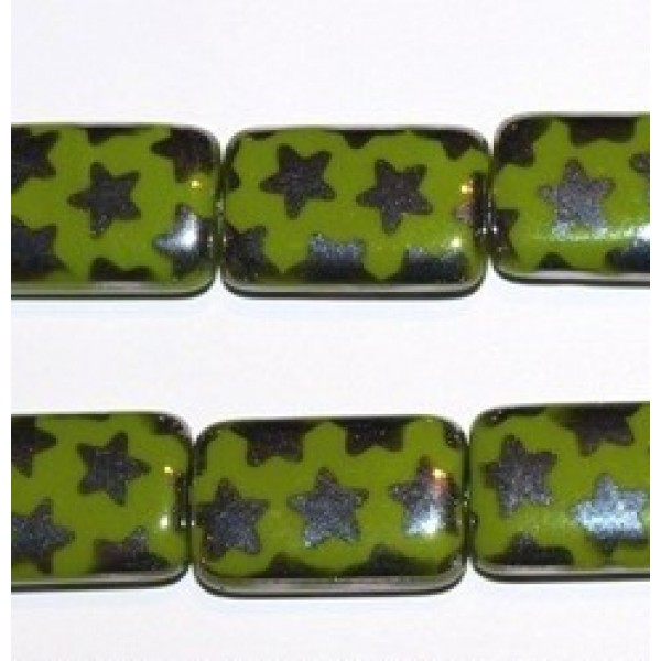 Green with Stars (x1)