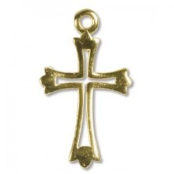Cross Pendant G/F (x1)