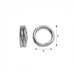 5mm Split Ring (x1)